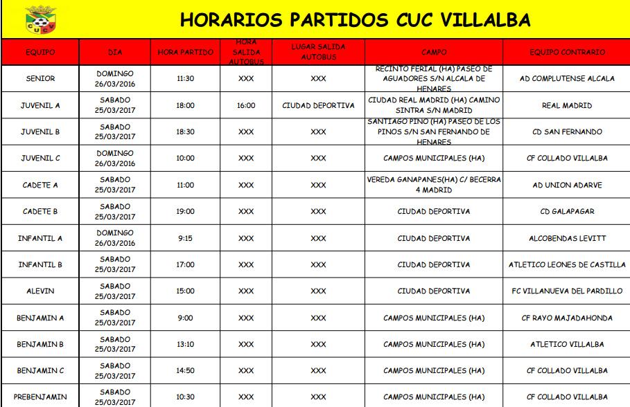 horarios25317