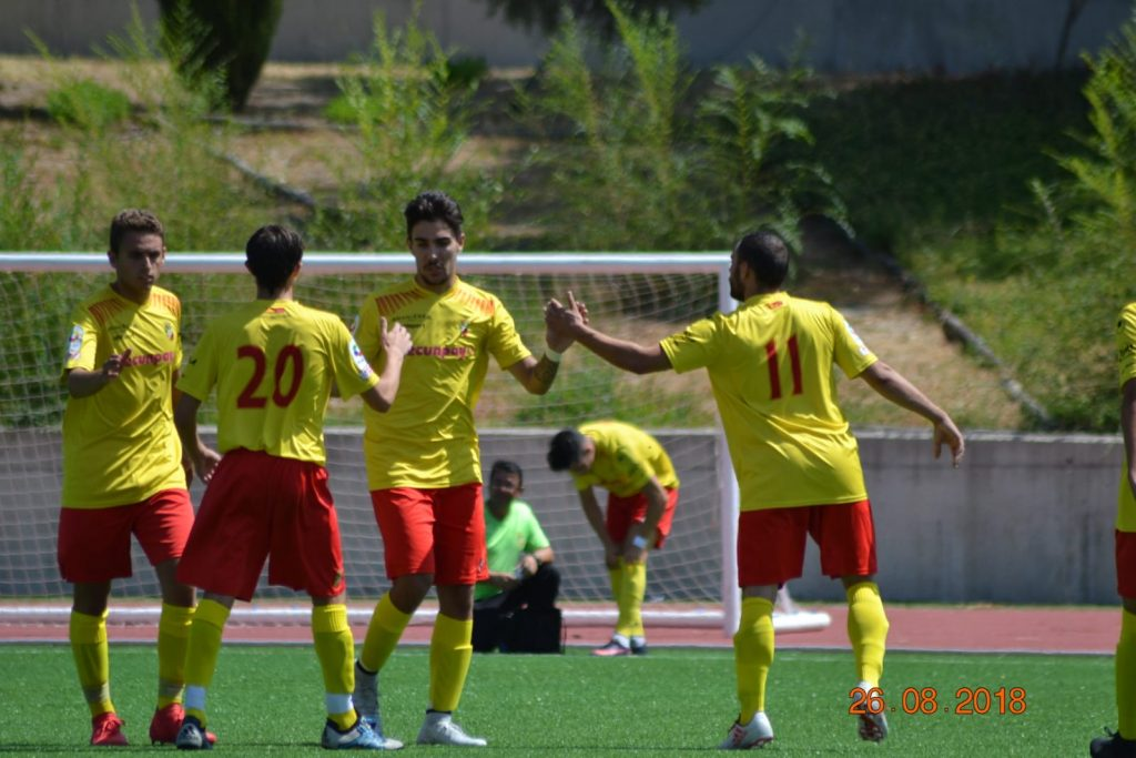Goleada del CUC Villalba-Pecunpay en el primer amistoso de pretemporada