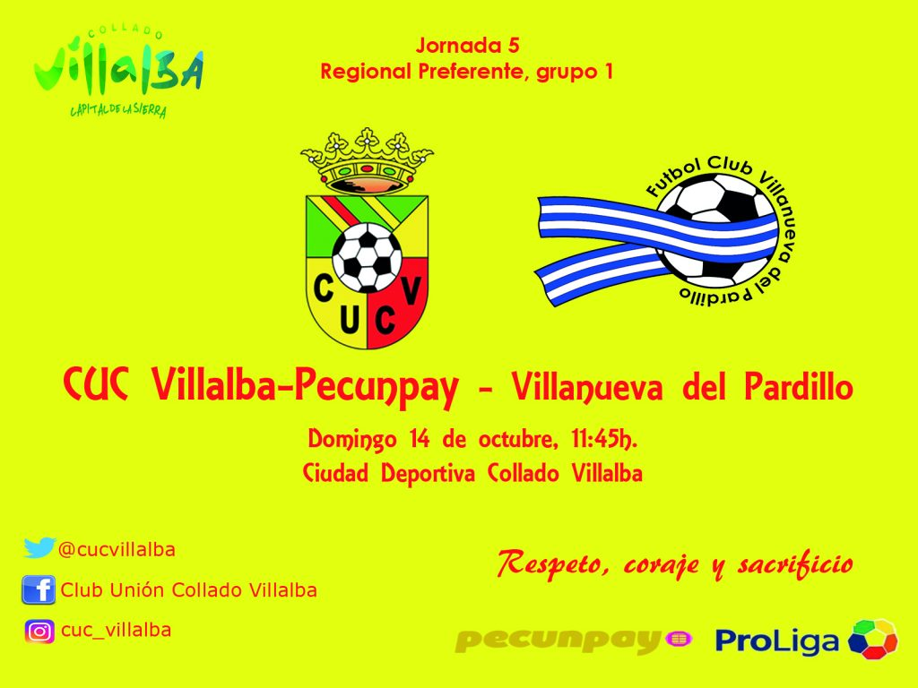 "El líder visita al CUC Villalba-Pecunpay Senior ""A"""