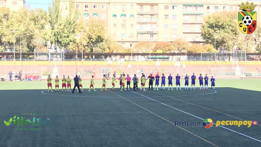Valioso empate del Senior 'A' en el Barrio de la Concepción