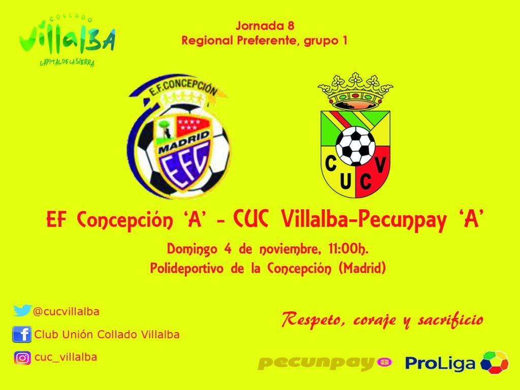 Salida exigente para el CUC Villalba-Pecunpay Senior 'A'